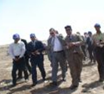Minia Governor visit to ECARU Agriculture Residues Treatment Facility at Minia Governorate